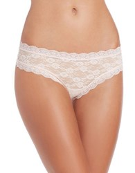 Candc California Lace Cheeky Hipsters Pearl Pink