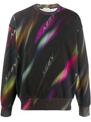 Aries Aurora Sweatshirt Black