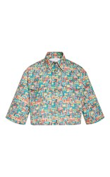 Christina Economou Safari Rope Printed Shirt