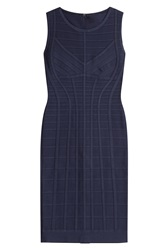 Herve Leger Herve Leger Aida Novelty Essentials Bandage Dress Blue