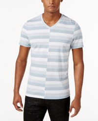Inc International Concepts Men's Alternating Striped T Shirt Only At Macy's Lightning
