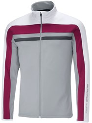 Galvin Green Men's Doyle Insula Full Zip Jumper Steel
