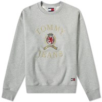 Tommy Jeans 6.0 Crest Crew Sweat M11 Grey
