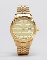 Sekonda Gold Bracelet Watch Exclusive To Asos Gold