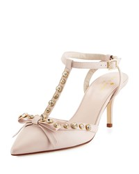 Kate Spade Julianna T Strap Bow Pump Petal Pink Women's
