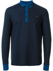 Burberry London Contrast Collar Polo Shirt