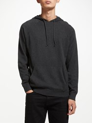 John Lewis Kin By Cotton Cashmere Hoodie Grey