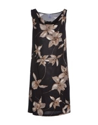 Gran Sasso Knee Length Dresses Black