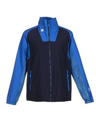 Bikkembergs Coats And Jackets Jackets Men Dark Blue