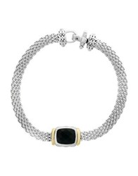 Effy 18K Yellow Gold And 925 Sterling Silver Bracelet