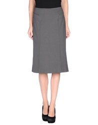 Caractere Knee Length Skirts Lead