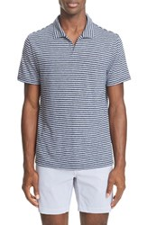 Onia Men's Shaun Linen Blend Polo