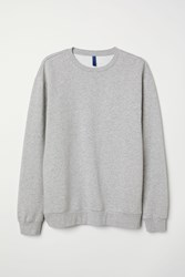 Handm Relaxed Fit Sweatshirt Gray