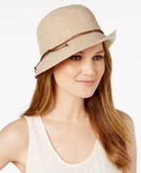 Inc International Concepts Packable Bolo Cord Cloche Created For Macy's Camel
