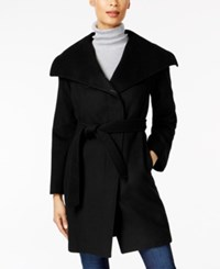 Jones New York Asymmetrical Coat Black