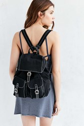 Cooperative Canvas Buckle Backpack Black