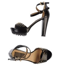 Cesare Paciotti 4Us Sandals Black