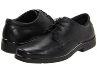 Hush Puppies Venture Black Men's Lace Up Bicycle Toe Shoes