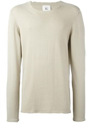 Lost And Found Rooms Crew Neck Jumper Nude Neutrals
