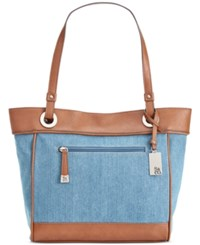 Styleandco. Style And Co. Brightspot Tote Only At Macy's Denim