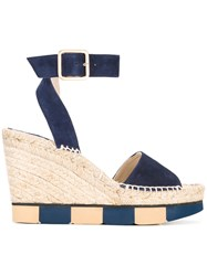Paloma Barcelo Lisette Sandals Blue