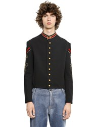 Ports 1961 Cotton And Viscose Blend Military Jacket