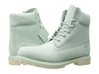 Timberland 6 Premium Boot Light Green Nubuck Women's Lace Up Boots