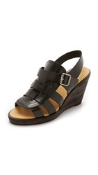 Maison Martin Margiela Wedge Sandals Black