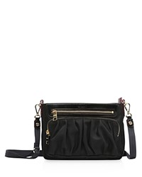 M Z Wallace Mz Abbey Crossbody Black Bedford