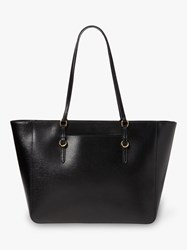 Ralph Lauren Chadwick Leather Tote Bag Black