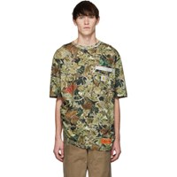 Heron Preston Green Carhartt Edition Camo T Shirt