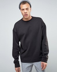 Weekday Divers Sweatshirt Black