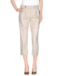 Met And Friends Trousers 3 4 Length Trousers Women Beige