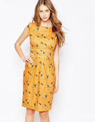 Trollied Dolly Neat And Chic Dress Yellowkingfisher