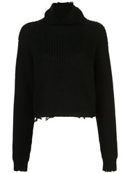 Rta Ribbed Roll Neck Jumper 60