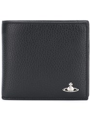 Vivienne Westwood 'Milano' Wallet With Coin Holder Men Leather One Size Black