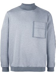 Oamc Pocket Sweatshirt Grey