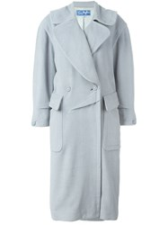 Thierry Mugler Vintage Loose Fit Coat Grey