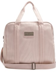 Adidas By Stella Mccartney Embossed Neoprene Tote Light Pink