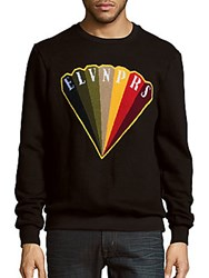 Eleven Paris Lofert Diamond Logo Sweater Black