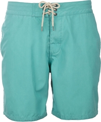 Faherty Classic Board Shorts Green
