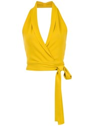 Egrey Cropped Top Yellow