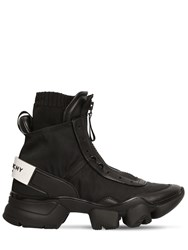 Givenchy Jaw Nylon Sock High Top Sneakers Black