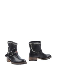 Htc Footwear Ankle Boots Men Black