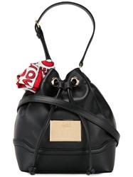 Love Moschino Bucket Shoulder Bag Black