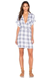 Rails Savannah Button Down Dress Blue