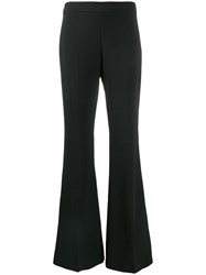 P.A.R.O.S.H. Flared Style Trousers Black
