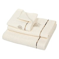 Roberto Cavalli Basic Towel Ivory 810 Guest Towel