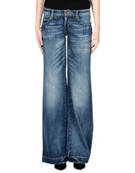Frankie Morello Denim Denim Trousers Women Blue