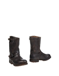 Cult Boots Dark Brown